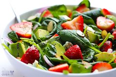 Strawberry-and-Avocado-Spinach-Salad-4