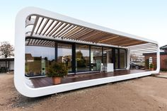 These sleek prefabs come with smart home features - Curbed