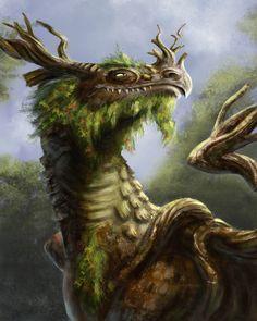 straywarden:  Tree Dragon