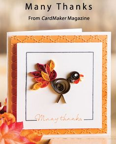 Many Thanks  from the Winter 2013 issue of CardMaker Magazine. Order a digital copy here: http://www.anniescatalog.com/detail.html?code=AM5251