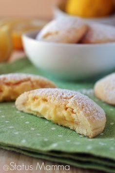 Biscotti farciti al limone simil Grisbi | Status mamma