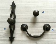 Drawer Pulls Handles Dresser Pull Handle Kitchen by LynnsHardware