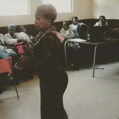motivating matriculants at Lebohang Secondary school