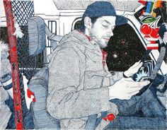 Hope Gangloff has mastered the art of being. From The Art of Being.