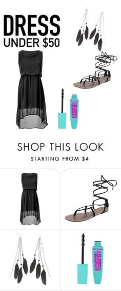 """""""Untitled #18"""" by cheerleadershaye ❤ liked on Polyvore featuring Charlotte Russe and Dressunder50"""