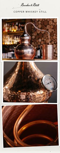 his 5 gallon copper still is handmade by master coppersmiths and is a must for any collector or persons passionate about their whiskeys. Fermentation is a breeze in 5 gallon buckets and the heat up time is pretty good, compared to larger stills. A typical run lasts for a couple of hours and should get you between 1-2 gallons of your preferred spirit. If you're passionate about making your own moonshine, this is definitely the still for you!