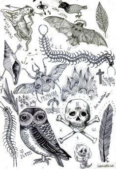 FLASH SHEET / TATTOO DESIGNS / on Behance