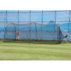 Heater Jr Pitching Machine + Xtender 24 Batting Cage