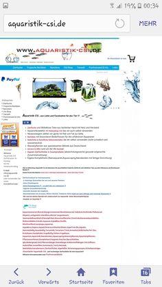 Onlineshop für Zierfische und Aquaristikbedarf. www.aquaristik-csi.de