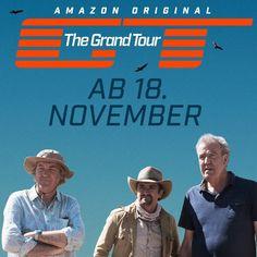 "Top Gear Nachfolger ""The Grand Tour"" beginnt: Die neue Show feiert am 18. November Premiere bei Amazon Prime Video - http://aaja.de/2cO2hLK"
