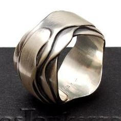 Jos Jonkergouw ring, Jewelry (Silver)...pinned by ♥ wootandhammy.com, thoughtful jewelry.