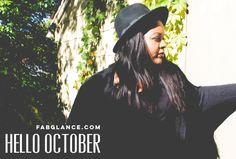 Hello October! Back to Blog Basics
