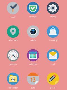Free Flat Web Icons