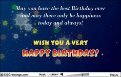 the best birthday wishes from a lovely one