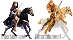 Imagine if the Barbie's Dream Job dolls included Barbie's dream of being an Amazon Warrior, and you've pretty much got Mattel's new line of dolls for the Wonder Woman movie. They're majestic.