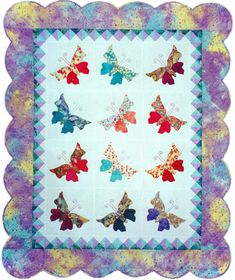 September Butterfly Quilt Pattern