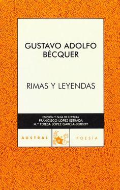 """Rimas y Leyendas (Clásica) de Gustavo Adolfo Bécquer -- I always read this book for Halloween. The tale """"El Monte de las Ánimas"""" always chills my blood."""