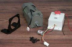 Double roller grain mill motor kit