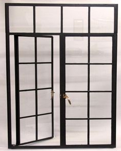 Hand Made Modern Steel French Casement Window for Luxury Home picture from Xiamen Lion Iron Doors Co. view photo of Steel Window, Simple Window, Custom Window.Contact China Suppliers for More Products and Price. French Casement Windows, Metal Windows, Front Doors With Windows, Iron Windows, Custom Windows, Floor To Ceiling Windows, Iron Doors, Industrial Windows, Industrial Loft