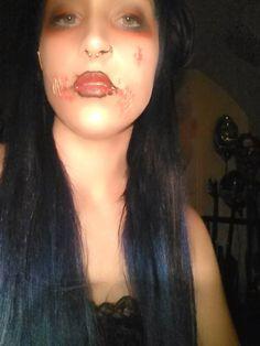 makeup, halloween