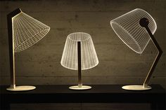 These Mind-Bending Lamps Are Really Just 2-D Cut-Outs | Co.Design | business + design
