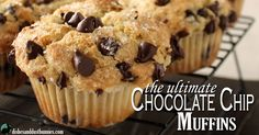 Chocolate chip muffins are one of those yummy treats that taste great no matter what time of the day or occasion you have them. They're great with breakfast, as a snack or even for a dessert. These fluffy chocolate chip muffins are perfect for satisfying your craving for yumminess! I remember when I was growing …