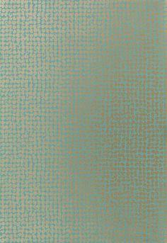 Wallcovering / Wallpaper   Samarra in Turquoise   Schumacher