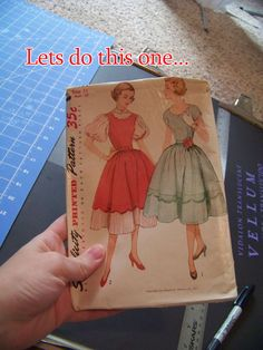 How To: Sizing Up Vintage Patterns For Modern Wear