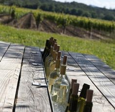 DIY: Built-in Picnic Table Wine Bar by Izabella Simmons