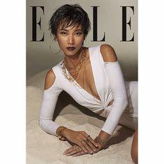 Model Trang Khieu on #ellevietnam latest issue. Photo: Bobby Nguyen Costume: Lam Gia Khang Make up: Tung Chau Tran Hair: Justin Stylist: @phuonganhdoan99  #trangkhieu #editorial #ellevn #fashion #photoshoot
