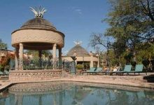 4 Nights Victoria Falls & Chobe. After breakfast depart on a guided African tour of the falls and traditional village. Here you will view the spectacular Devil's Cataract, Main Falls as well as the Horseshoe Falls. At the village you will have the opportunity to purchase some of Zimbabwe's arts and crafts. In the afternoon you will be collected for a sunset cruise on the Zambezi River including drinks (beer and wine) and light snacks.