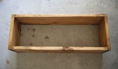 pine box shelf as a nightstand-4