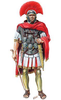 """Centurion"", century, CE, by Velimir Vuksic Ancient Rome, Ancient History, Roman Armor, Roman Centurion, Greek Pantheon, Rome Antique, Roman Warriors, Roman Legion, Armadura Medieval"