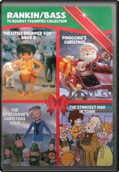 rankin/bass | Rankin/Bass TV Holiday Favorites Collection - The Little Drummer Boy ...