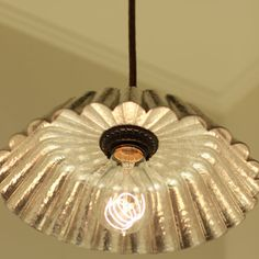 Hanging Pendant Light Fixture with Vintage by lucentlampworks