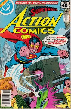 Action Comics 490  December 1978 Issue  DC Comics  by ViewObscura