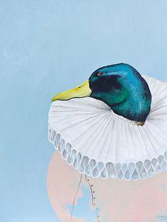 Merlin, Malerei von Jill Tegan Doherty http://www.weartberlin.de/inspiration/berlinartweek2015/