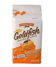 Pepperidge Farm Goldfish - IMPORTANT: Please read ingredient labels. Manufacturers continually change packaging and processing.