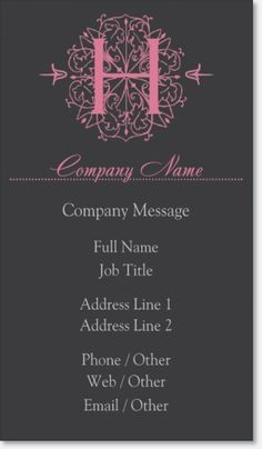 Pink scrapbook signature business cards elegant pink signature pink scrapbook signature business cards elegant pink signature business cards vistaprint attempts at creating beautiful things pinterest scrapbook reheart Images