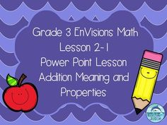 Free! It's time to learn the properties of addition! Do you use the Grade 3…