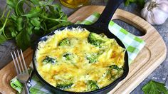 Broccoli Swiss Frittata, perfect Bariatric Eating