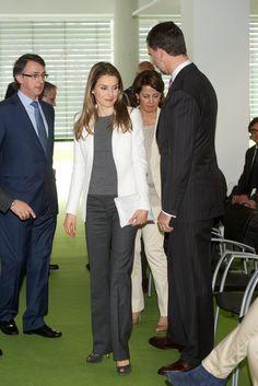 Princess Letizia - Spanish Royals Visit Navarra