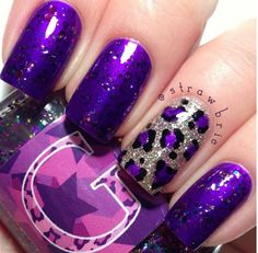 Stylish Nail Art Designs Collection 2014  | See more nail designs at http://www.nailsss.com/french-nails/2/