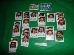 FIFA 2014 Panini World Cup Brazil set of 34 Greece  Soccer Team Stickers find me at www.dandeepop.com