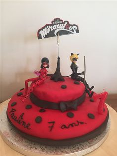 miraculous ladybug birthday cake marlyn s party ideas pinterest