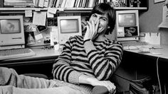 """""""Apple Inc was founded by Steve Jobs, Steve Wozniak and Ronald Wayne on this day 40 years ago"""" Bill Gates Steve Jobs, Steve Jobs Apple, Steve Wozniak, Apple Ii, Steve Jobs Photo, Norman, Pixar, Apple Founder, Moby Dick"""