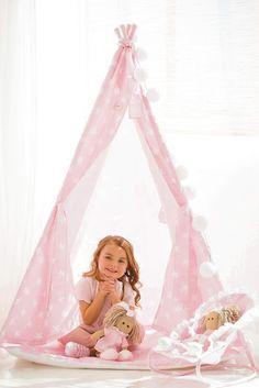 Tipi infantil para nuestros niños, ¡precioso!