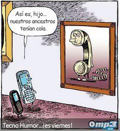 Tecno Humor - Los antepasados de la tecnología... Es Viernes… ¡A relajarse!