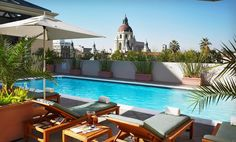 Westin Hotel, downtown Pasadena from $115