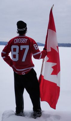 Not a huge fan of Sidney Crosby, but I like this photo.
